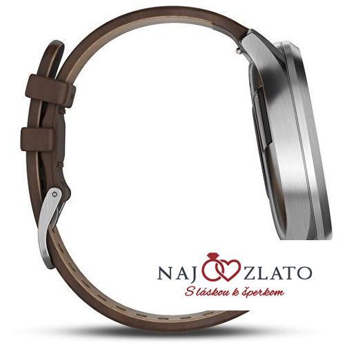 Garmin Vivomove Optic Premium chytré hodinky (vel. L) stříbrné ... 3e480f73a2b