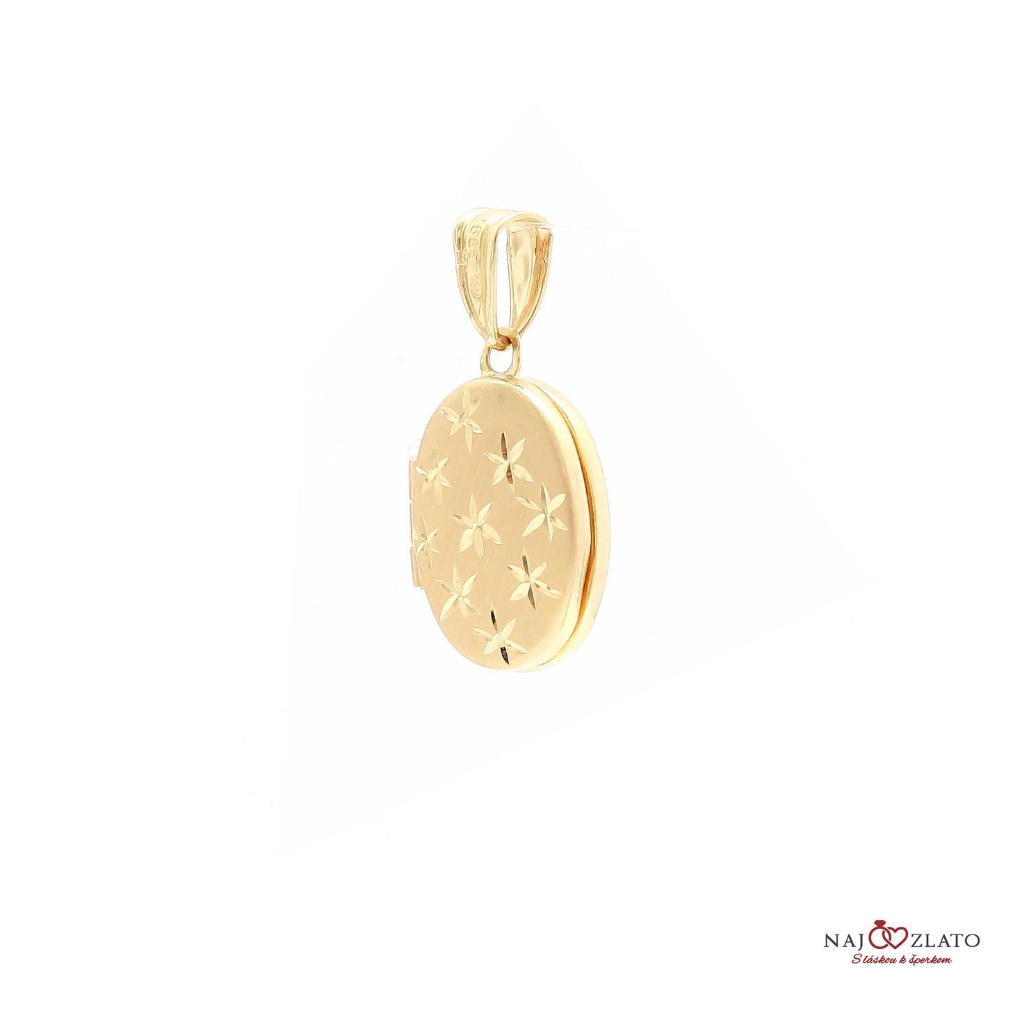 zlatý gravírovaný medailón na fotku zlatý gravírovaný medailón na fotku 1 zlatý  gravírovaný medailón na fotku 2 14a75e58f3d
