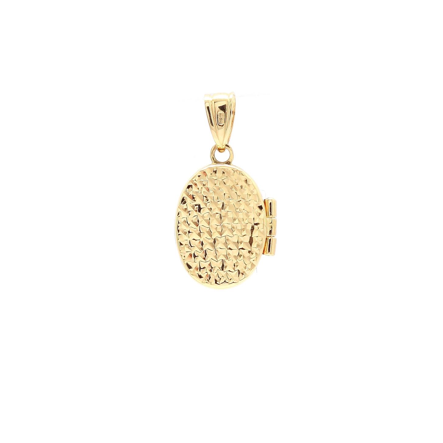 ... 1 zlatý gravírovaný medailón na fotku 2 d0e989faf44