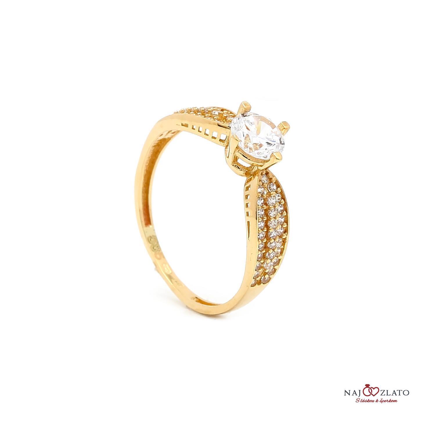zlatý zásnubný prsteň noelani ... 67018e8e818